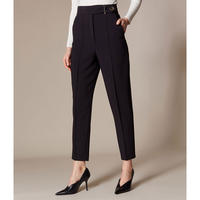 High-Waist Tailored Trousers