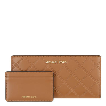Chain Embossed Large Wallet