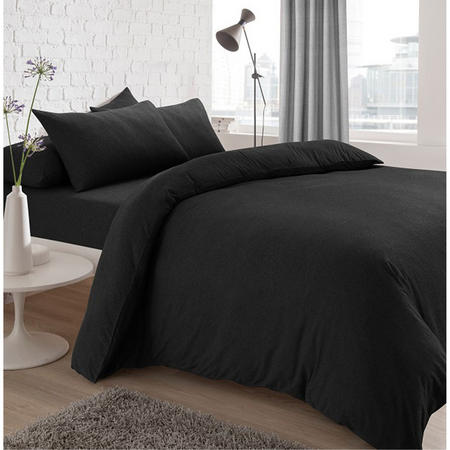 Jersey Fitted Sheet Charcoal