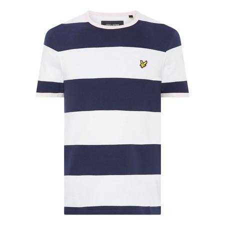 Wide Stripe T-Shirt