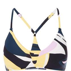 Copy Print Bikini Top