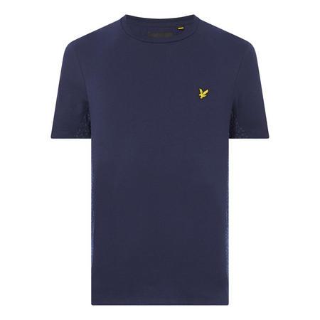 Crew Neck Panelled T-Shirt