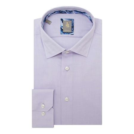 Custom Fit Textured Shirt