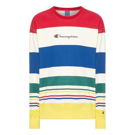 Striped Sweat Top