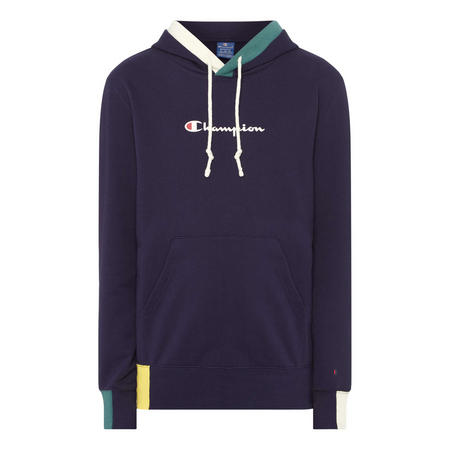 Block Panel Trim Hoody
