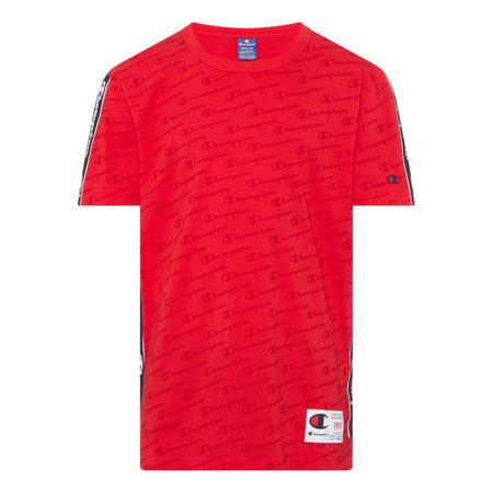 Taped Crewneck T-Shirt