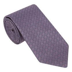 Dot Chevron Tie