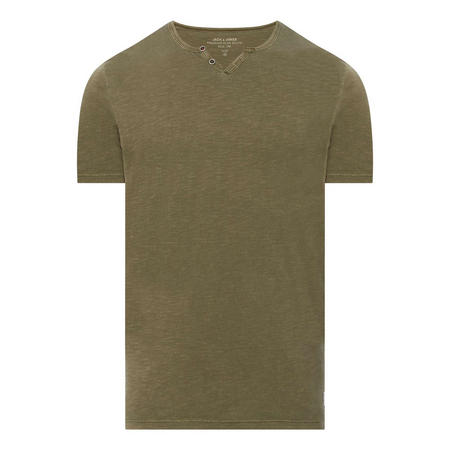Benjamin Split Neck T-Shirt