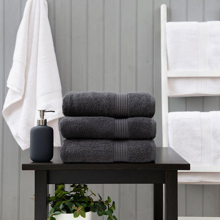 Poloma 750 Gsm Towel Steel