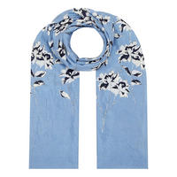 Along Floral Scarf