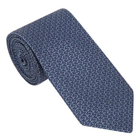 Zig Zag Textured Tie