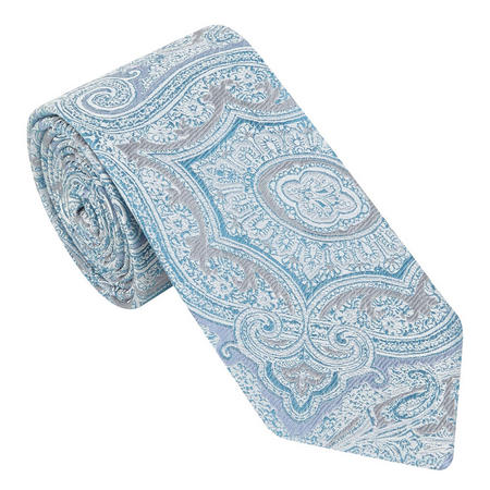 Light Paisley Embroidered Tie