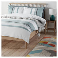 Scandi Felix Duvet Cover Set Mineral
