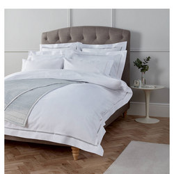 Medici Duvet Cover White