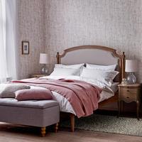 Lillian Floral Cotton Duvet Cover White