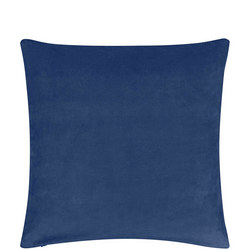 Plain Velvet Cushion Navy 50 x 50cm