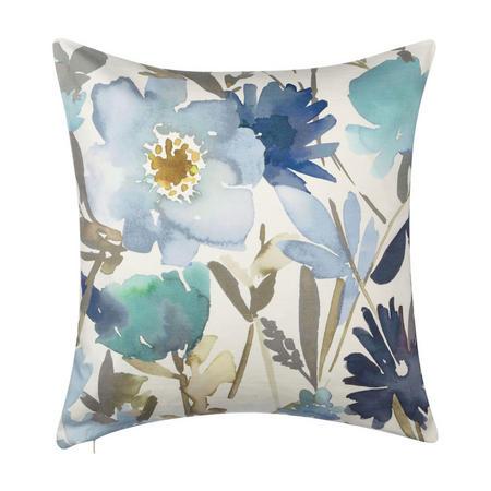 Bloom Cushion Blue