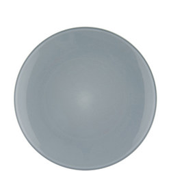 Glaze Double Dinner Plate Blue