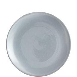 Glaze Double Side Plate Blue