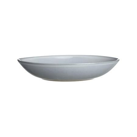 Glaze Double Pasta Bowl Blue
