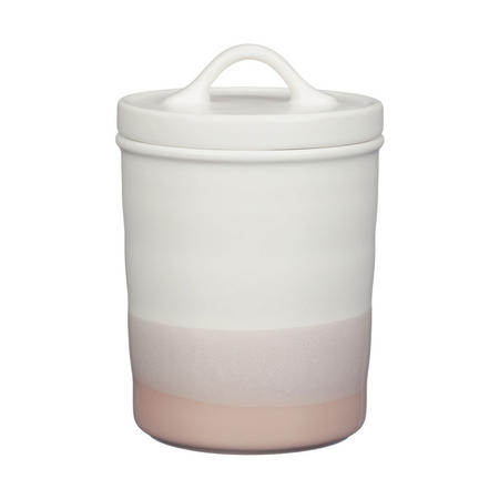 Croft Collection Lidded Ceramic Storage Pot Rosa
