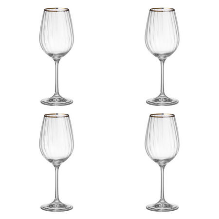 Croft Collection Oakham Red Wine Glass Set of 4