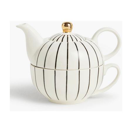 Fusion Stripe Tea For One