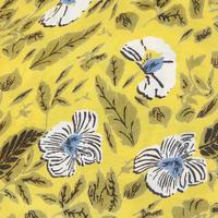 Along Botanical Print Scarf