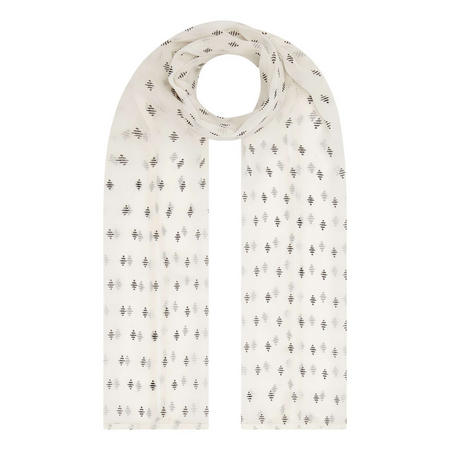Along Abstract Print Scarf