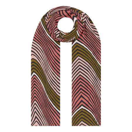 Along Striped Scarf