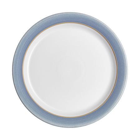 Large Dinner Plate Natural Denim