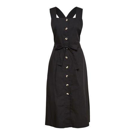 Flew Pinafore Dress
