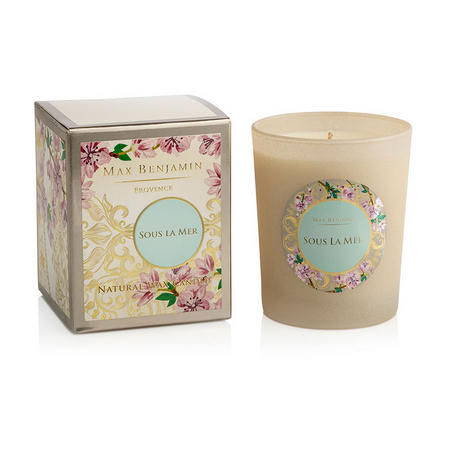 Sous La Mer Luxury Scented Candle