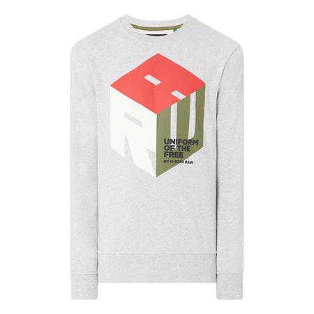 Graphic 6 Sweat Top