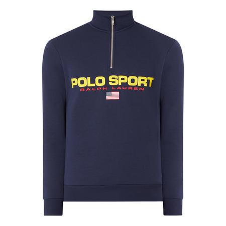 Sport Half Zip Sweat Top