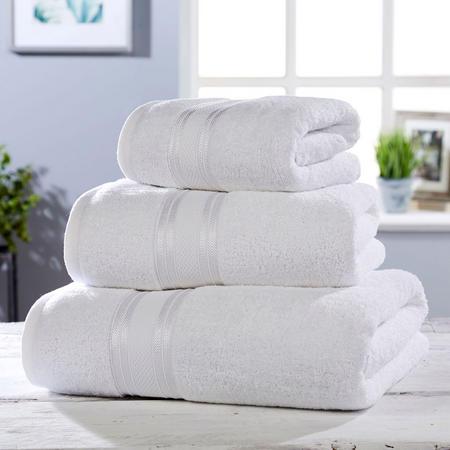 550 GSM Towel White