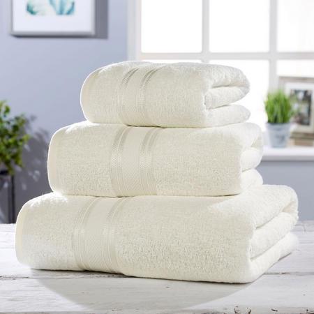 550 GSM Towel Cream