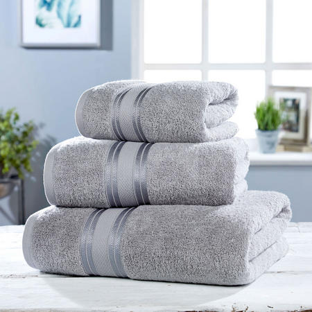 550 GSM Towel Grey