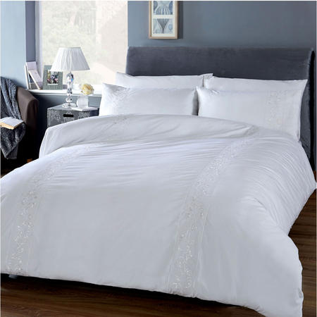 White Collection Florence Duvet Set