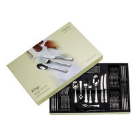 Kings 58 Piece Cutlery Box Set