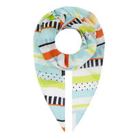 Stripe and Dot Scarf