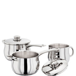 1000 Deep Saucepan Three Piece Set