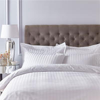 Satin 200 Thread Count Housewife Pillowcase Pair White