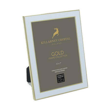 Gold Trimmed Photo Frame Small