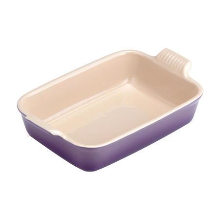 Stoneware Medium Heritage Rectangular Dish Ultra Violet