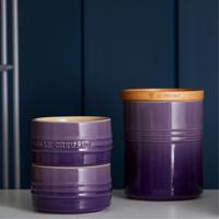 Stoneware Medium Storage Jar Ultra Violet