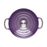 Signature 20cm Round Casserole Ultra Violet