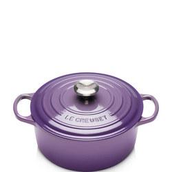 Signature 24cm Round Casserole Ultra Violet