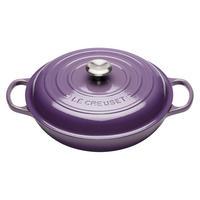 Signature 30cm Shallow Casserole Ultra Violet