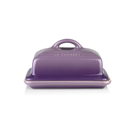 Stoneware Butter Dish Ultra Violet